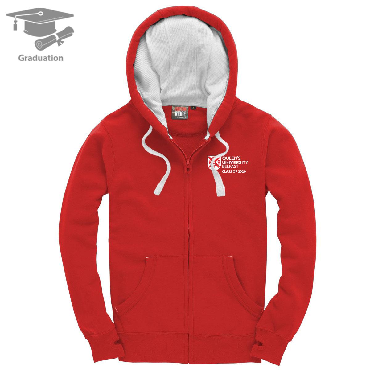 Ultra Soft Feel Hooded Top - Class of 2020 Only