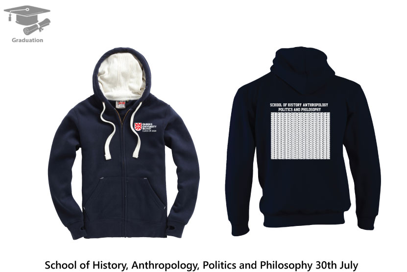 Ultra Soft Feel Hooded Top  - School of History, Anthropology, Politics and Philosophy