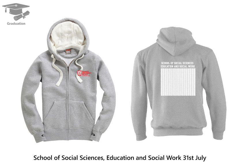 Ultra Soft Feel Hooded Top  - School of Social Sciences, Education and Social Work