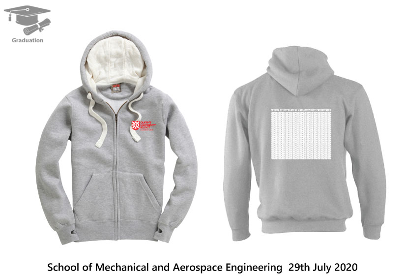 Ultra Soft Feel Hooded Top  - School Mechanical and Aerospace Engineering